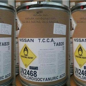 VianPool Chlorine 90% (TCCA) Dạng viên 20gr 50Kg
