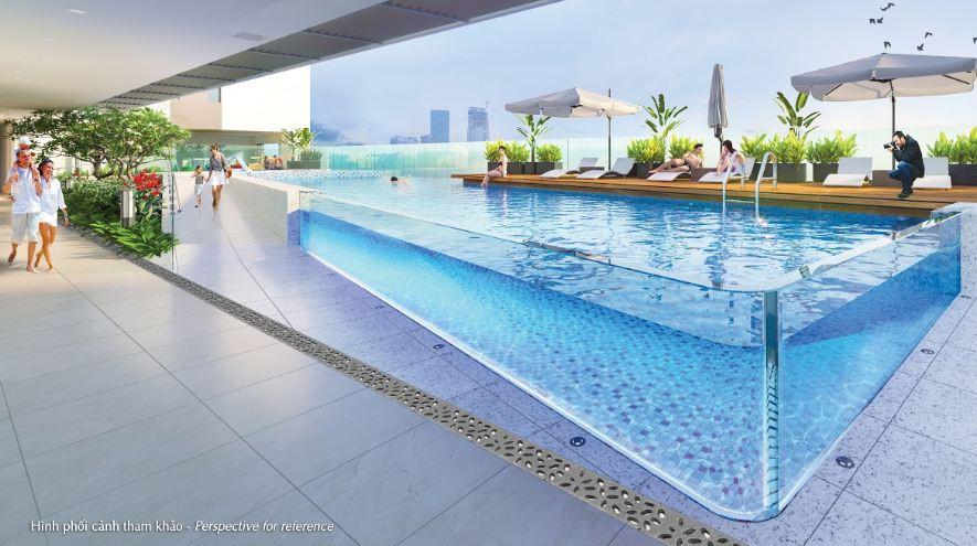 VianPool (Tiếng Việt) Hồ bơi xuyên sáng - Điểm nhấn kiến trúc lần đầu xuất hiện tại Hưng Phúc Premier